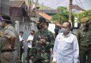 Kodim 0501 JP BS Gelar Pengamanan dan Penegakan Protkes Kunjungan Presiden Tinjau Vaksinasi Covid 19 di Tanah Tinggi Johar Baru