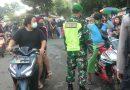 Bersama Tiga Pilar Babinsa Koramil 0803/01 Taman Laksanakan Opsgakplin Prokes
