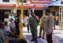 Dandim Ngawi Bersama Kapolres Tinjau Langsung Pelaksanaan Vaksinasi Masal di Wilayah Kabupaten Ngawi