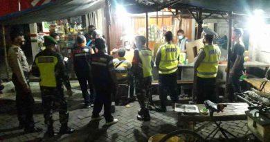 Koramil 0803/15 Kartoharjo Bersama Tiga Pilar Kembali Gelar Operasi Yustisi Penegakan Prokes Dan PPKM Mikro