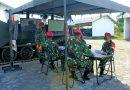 Komandan Yonranratfib 2 Marinir gelar Kesiapan Poskotis Pasrat