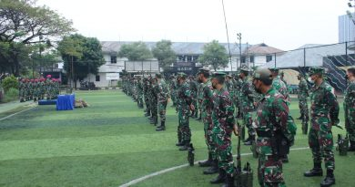 Jelang Latihan Armada Jaya XXXIX TA. 2021 Operatora Radio Marinir Wilayah Jakarta Laksanakan Penyegaran Proskom