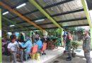 Babinsa Bantu Amankan Suntik Vaksin, Himbau Warga Agar Patuhi Prokes