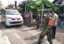 Puluhan Warga Dipulangkan Usai Jalani Isolasi, Danramil Wungu Himbau Warga Untuk Tetap Patuhi Prokes