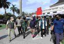 Panglima TNI Tinjau Dua Lokasi Pelaksanaan Isolasi Terpusat di Bandung