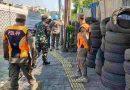 Tiga Pilar Gambir Tertibkan Protokol Kesehatan di Area Pedagang Kaki Lima