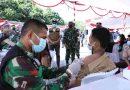 Panglima TNI: Lanjutkan Terus Vaksinasi Guna Membentuk Kekebalan Komunal