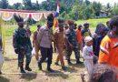 Satgas TNI Hadiri Pembentukan 2 Kampung Baru di Mamberamo Raya