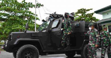Danrem 174 Merauke Siapkan Kendaraan Taktis Guna Mendukung Pengamanan PON XX Di Merauke
