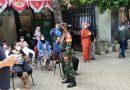 Koramil Tanah Abang Konsisten Tugaskan Babinsa Awasi Prokes Vaksinasi di Wilayah Binaan