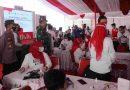 Dandim 0807 Dampingi Bupati Tinjau Vaksinasi Pelajar di SMPN 3 Tulungagung