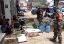 Babinsa Koramil 0801/05 Nawangan Himbau Masyarakat Agar Tetap Patuhi Prokes