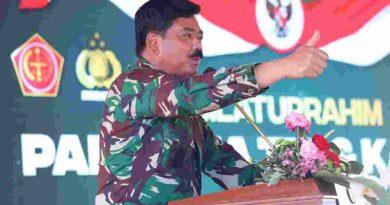 Panglima TNI : Vaksinasi Terbukti Ampuh Lindungi Masyarakat Dari Dampak Terburuk Covid-19