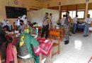 Koramil 0801/07 Ngadirojo Pantau Vaksinasi Siswa Siswi Jenjang SMA Sejawa Timur Cabang Dinas Pendidikan Pacitan