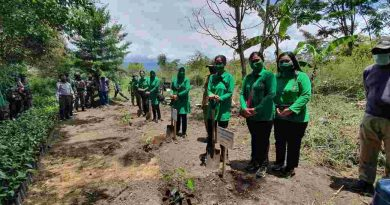 Kunjungan Ketua Persit KCK Daerah XVII/Cenderawasih ke Wilayah Kabupaten Jayawijaya