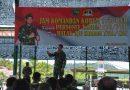 Danrem 173/PVB Berikan Jam Komandan Di Awal Kepemimpinannya