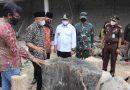 Forkopimda Tulungagung Dampingi Menteri UMKM RI Tinjau Pengrajin Fosil Kayu dan Cangkul Merah Putih