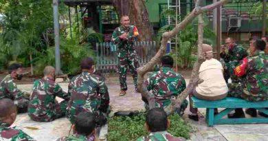 Koramil 01/ Menteng Laksanakan Jam Komandan
