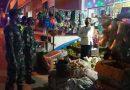 Patroli Malam, Babinsa Koramil 0801/06 Bandar Laksanakan Himbauan Protokol Kesehatan