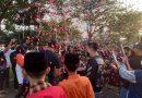 Dandim 0501 JP BS Kolonel Inf. Luqman Arief Beri Kejutan Ultah Kombes Hengky Hariyadi Kapolres Jakpus