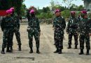 Prajurit Lapis Baja Menkav 2 Mar Terima Kunjungan Kerja Komandan Pasmar 2