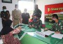 Kodim 0806/Trenggalek Salurkan BTPKLW Untuk 3.500 PKL dan Warung Kabupaten Trenggalek