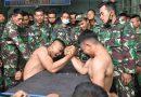 Adu Panco,  Hibur Prajurit Marinir Usai Latihan Pendaratan Amfibi 2021