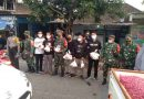 Koramil 0806/02 Pogalan Bersama Komunitas Kracker AG Trenggalek Sinergi Bagikan Masker dan Takjil