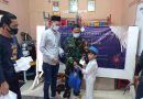 Babinsa Koramil 01/Menteng Berkolaborasi dengan Aparat RW Santuni Lansia dan Anak Yatim