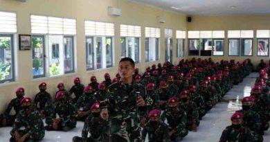 Jam Komandan Batalyon Kapa 2 Marinir Pasmar 2 Jelang Hari Raya Idul Fitri 1442 H