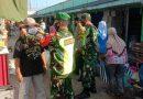 Koramil 0803/09 Saradan Bersama Muspika Gelar Operasi Yustisi Dan Bagikan Masker