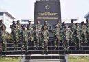 Panglima TNI Terima Laporan Kenaikan Pangkat 56 Perwira Tinggi