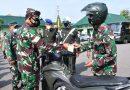 Danrem 081/DSJ : Prajurit TNI Harus Disiplin dan Tertib Dalam Berkendara
