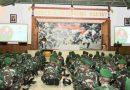 Danrem 174 Merauke Beri Pembekalan Pasukan Yonif 315/Garuda Pukul 00.00 WIT