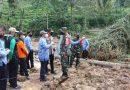 Dandim Dampingi Bupati Tulungagung Tinjau Lokasi Tanah Longsor di Desa Nglurup Sendang