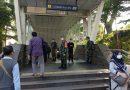Pasukan Gabungan TNI Awasi Prokes di Sarana Transportasi Umum Didampingi Babinsa Kodim 0501 JP BS