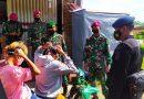 Prajurit Yon Kapa 2 Marinir Laksanakan Satgas Pengamanan Covid 19 di Bangkalan Madura