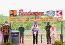 Panglima TNI Dampingi Presiden RI Joko Widodo Resmikan Proyek Strategis Nasional di Sulsel