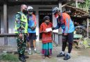 Bersama Komunitas Sepeda NCC Dandim 0806/Trenggalek Berbagi Santunan