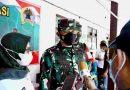 Danrem 081/DSJ Tinjau Serbuan Vaksinasi di Lokasi TMMD