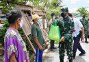 Danrem 081/DSJ Bantu Warga Kurang Mampu di Lokasi TMMD