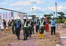 Danrem 174 Merauke Tinjau Pembangunan Rumah Sakit Modular Berkapasitas 200 Tempat Tidur