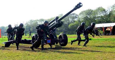 Batalyon Howitzer 2 Marinir Juara Lomba Menembak Reaksi Pertahanan Dekat Daerah Steling