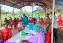 Kordinasi Apik Koramil 1705-02 Nabire dan Puskesmas Sukseskan PON XX Papua Melalui Gerakan Vaksinasi