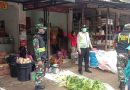 Tetap Semangat, Babinsa 0801/04 Tegal Ombo Sosialisasikan Protkes