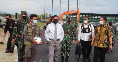 Pangdam XVII/Cenderawasih Sambut Kunjungan Kerja Menkopolhukam RI di Jayapura