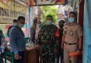 Babinsa 02 Sawah Besar Pantau Prokes Didua Lokasi Vaksinasi Wilayah Binaan