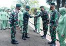 Kunjungan Kerja Pangkostrad ke Batalyon Zipur 9 Kostrad