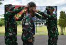 Danrem 174 Merauke Sambut Kedatangan Pangdam VI/Mulawarman dengan Tarian Adat Suku Marind