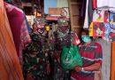 Koramil 06/CP Salurkan Paket Sembako Bakti Sosial Wilayah Terpencil Terluar Terisolir dan Kumuh Perkotaan